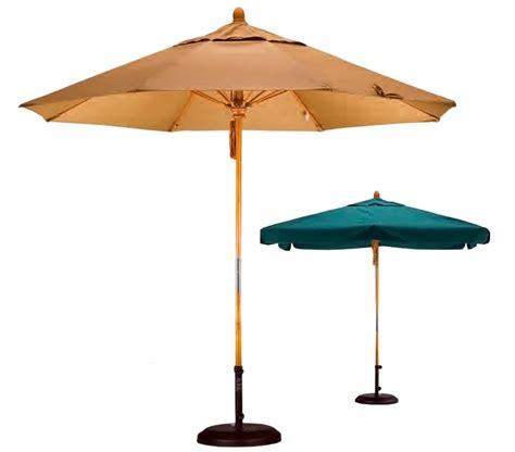 california umbrella 9 foot wood market umbrellas with
