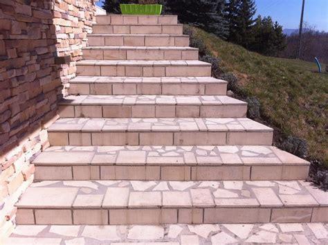 habiller un escalier en beton am 233 nagement ext 233 rieur