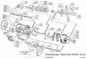 Abu Garcia Black Max Reel Diagram