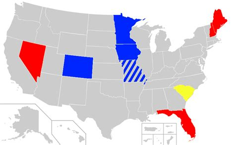 what color is the republican file republican presidential primaries results 2012