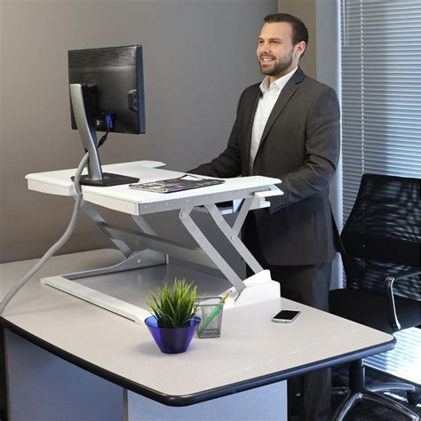 ergotron workfit t sit stand desktop workstation sit stand 33 397 062 ergotron workfit t desktop workstation