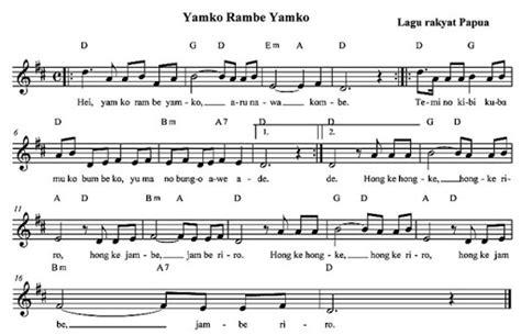notasi angka lagu mengheningkan cipta akord dan progresi akord oktober 2008