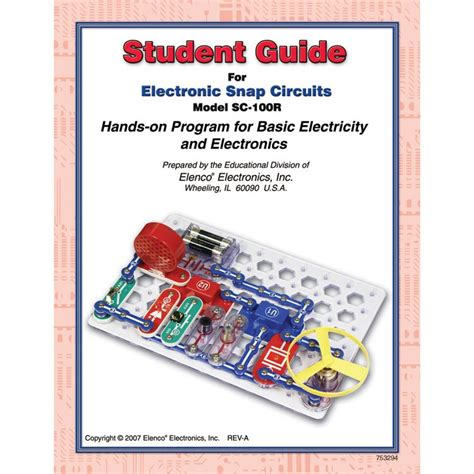 Student Training Snap Circuits Electronic Kit