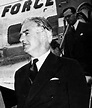 Historical men and women: Anthony Eden, British Prime Minister