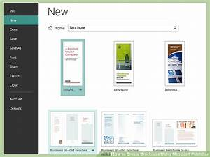 How to create brochures using microsoft publisher 11 steps for Microsoft publisher brochure