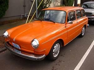 Old Parked Cars   1970 Volkswagen 1500 Squareback Wagon
