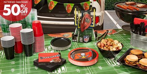 nfl tampa bay buccaneers party supplies party city