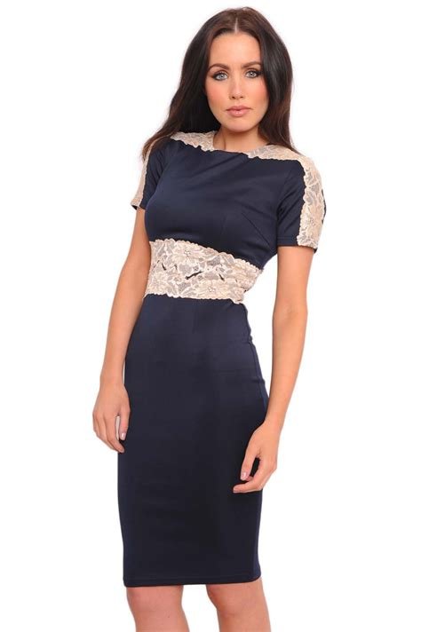 clearance sale up to 50 all mini dress import 20 ax jade lace 3 4 sleeve scuba midi dress in navy