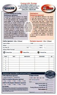 coolray maintenance agreement form wrench group