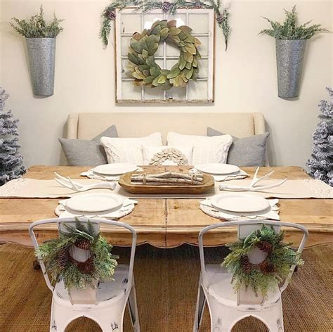 Farmhouse Dining Room Decorating Ideas by Interior Decorating Ideas Home Bunch