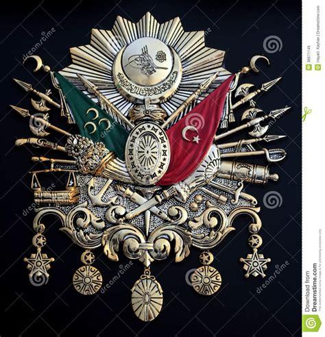 impero ottomano emblema dell impero ottomano immagine stock immagine di