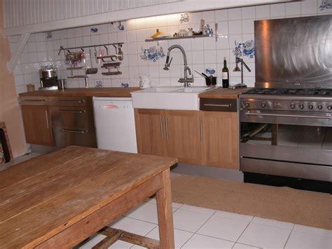 ilot cuisine inox simple notre cuisine mur et tout inox lulot