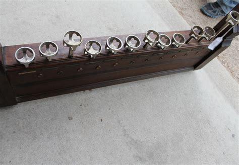 bargain johns antiques rare oak brunswick billiard