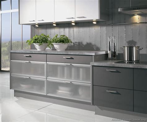 modern grey kitchen cabinets pictures of kitchens modern two tone kitchen cabinets