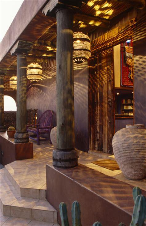 moroccan porch  design ideas remodel  decor