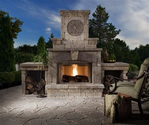 cost   outdoor fireplace landscaping network