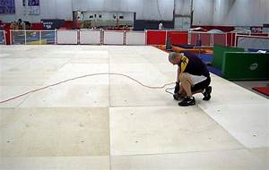 Spring floor maintenance gymnastics spring floor us for Used gymnastics spring floor