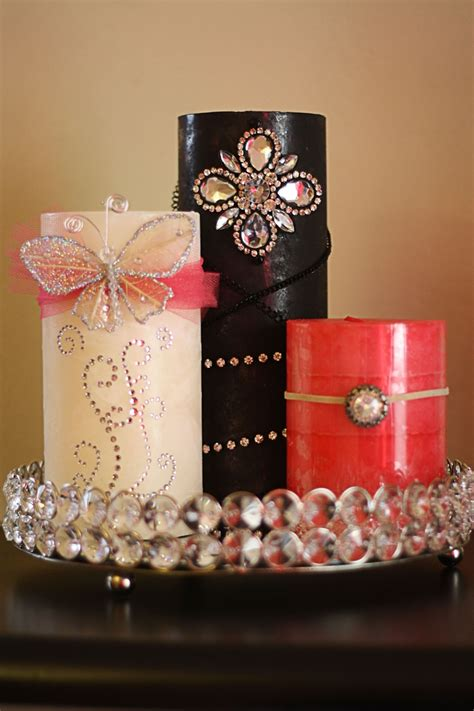 Decorating Ideas For Candles by 17 Best Ideas About Decorated Candles On