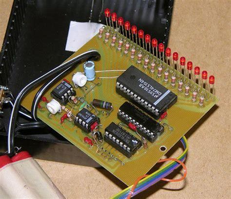 led bargraph optical tachometer diy pinterest led