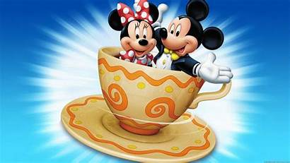 Mouse Mickey Minnie Cartoon Wallpapers Coffee Cup