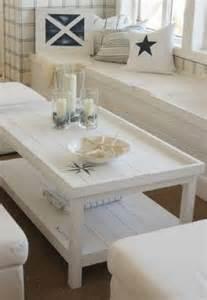 Nautical Beach Style Coffee Table