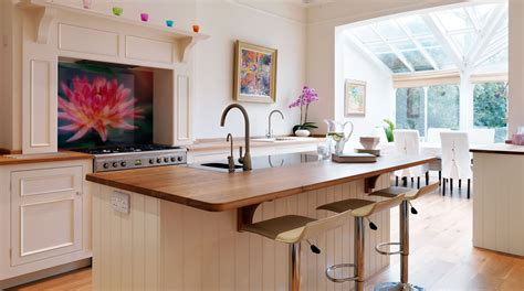 Kitchen Island Ideas For Small Spaces - original open plan kitchen from harvey jones