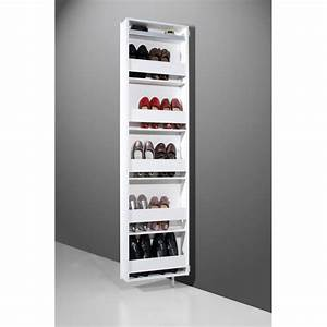 Meuble A Chaussure Fly : meuble rangement chaussures allibert ~ Teatrodelosmanantiales.com Idées de Décoration