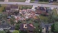 Tornado touches down in Chicago suburb, demolishing homes ...