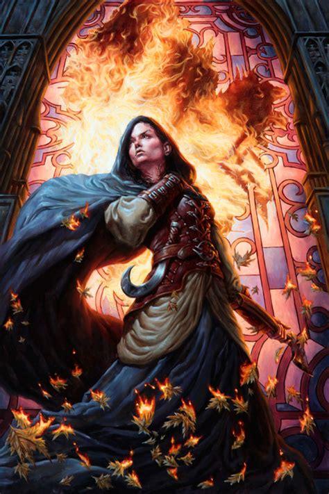 token human hayes michael fantasy warrior mage defiance deviantart church avacyn mt artist cool mtg artwork female magic woman crumbling