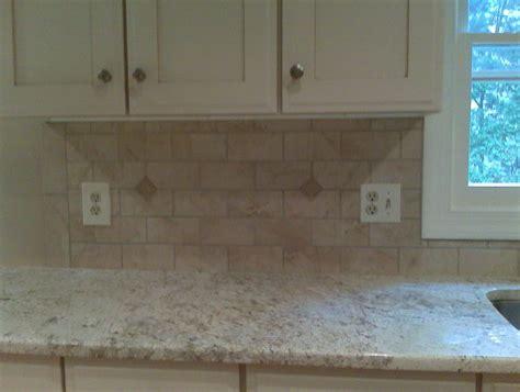 subway tiles kitchen backsplash granite subway tile backsplash white glazed cabinets