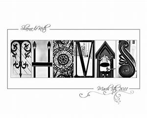 17 best images about letter art on pinterest names With letter photography name art
