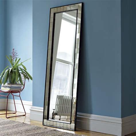 floor mirror for antique tiled floor mirror west elm