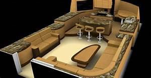 Best pontoon boat design ideas contemporary interior for Interior decorating ideas for boats