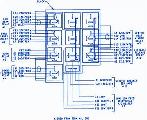 Plymouth Voyager 1997 Minivan Fuse Box  Block Circuit Breaker Diagram