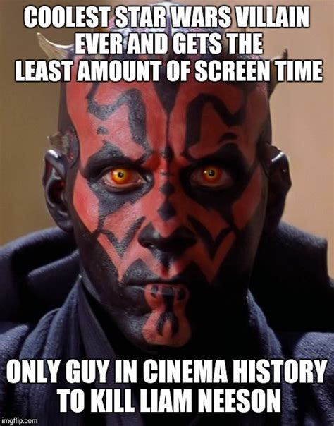 Darth Maul Meme - darth maul deserves another star wars appearance imgflip