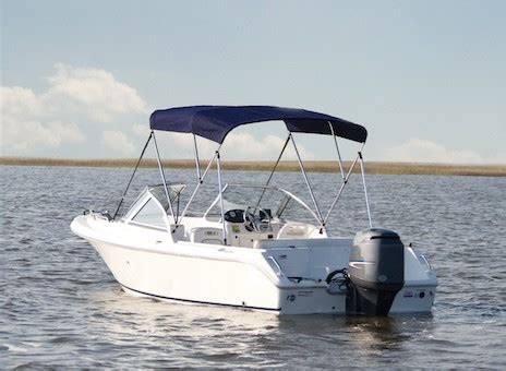 Boat T Top Braces by Bimini Top Carver Covers