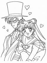 Coloring Sailormoon Picgifs sketch template