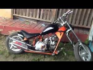 Idling A 49cc Mini Chopper