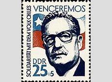 Sellos de Correo Una calle Salvador Allende