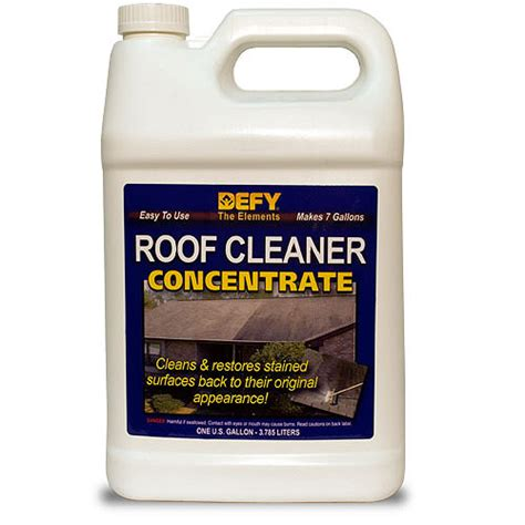 defy roof cleaner concentrate gal