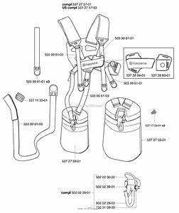Husqvarna 55 Harness Duo Balance Parts Diagram For Harness