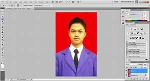 Mengubah Warna Backround Pas Foto dengan Photoshop