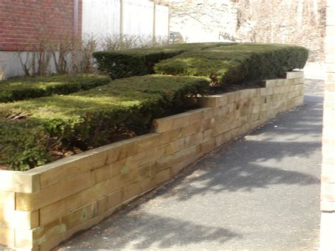How To Install Landscape Timbers
