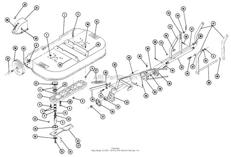 Toro Tractor Parts Diagram For