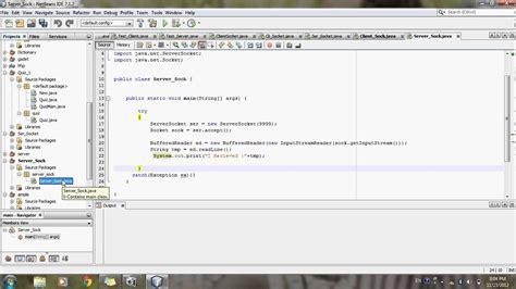 Socket Programming In Java  Client Server Program In Java