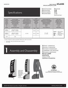 Specifications  1 Assembly And Disassembly  Specifications