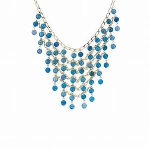 Blue  U0026 Gold Moda Di Pietra Necklace