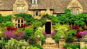 English Manor Garden House HD Wallpapers