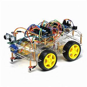 Building Instructions 4wd Arduino Robot