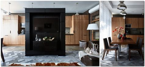 contemporary style apartment designed   love